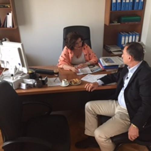 Συνάντηση με τον βουλευτή Λάρισας Χρήστο Κέλλα