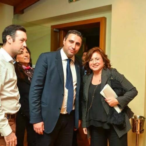 Με τον πρόεδρο της ΟΝΝΕΔ Σάκη Ιωαννίδη