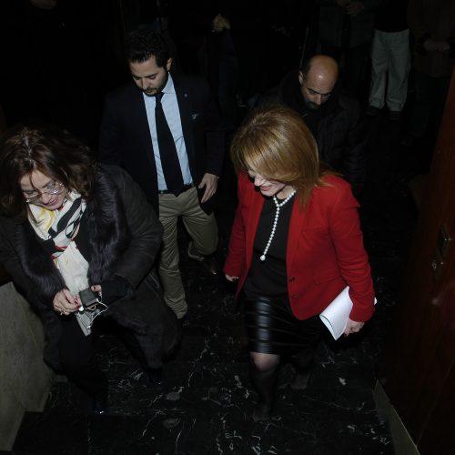 Στη Λαμία  με τη φίλη μου και υποψήφια βουλευτή ΝΔ Φθιώτιδας Ελένη Μακρή-Θεοδώρου